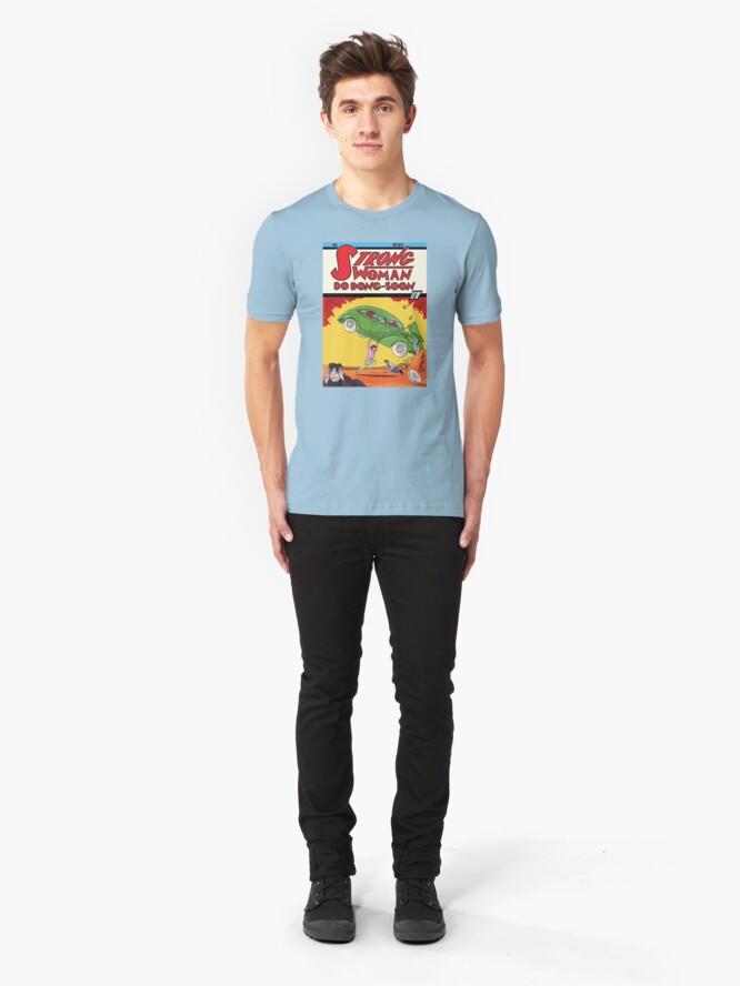 Alternate view of Do Bong-Soon Eng Slim Fit T-Shirt