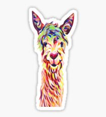 Alpaca Graphic Sticker