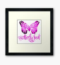 Butterfly beat Framed Print