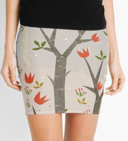 Sleeping Fox Mini Skirt