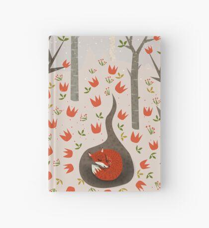 Sleeping Fox Hardcover Journal