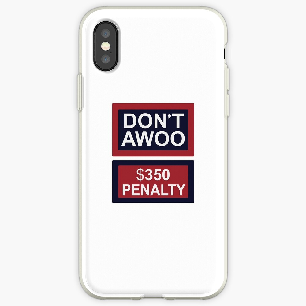 NICHT AWOO iPhone-Hülle & Cover