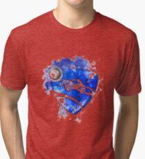 Rocket League Logo Painting Tri-blend T-Shirt
