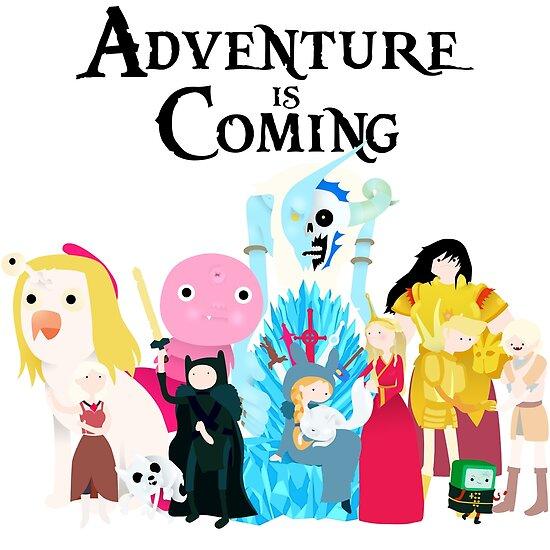 Adventure is Coming by Hannah Pedersen-Born