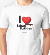Teen Wolf Hearts - Ethan & Aiden Unisex T-Shirt