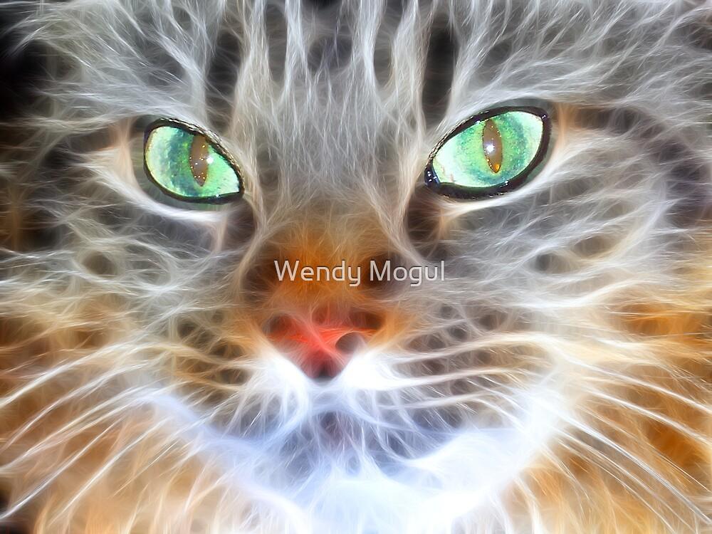 Fractual Feline by Wendy Mogul