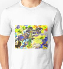 Psychedelic Broad boddied chaser Unisex T-Shirt
