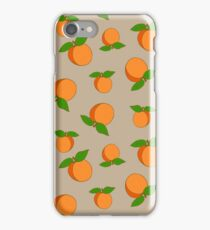 Apricots pattern iPhone Case/Skin