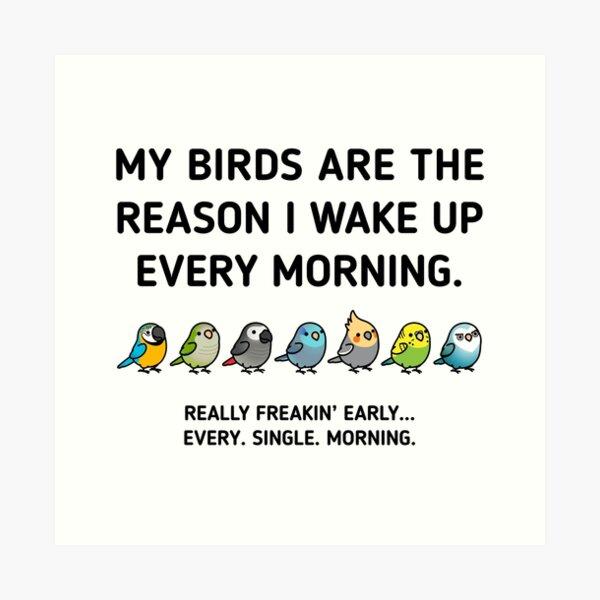 Early Birds Art Print
