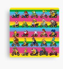 Luxurious Race Canvas Print