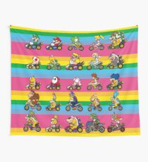 Luxurious Race Wall Tapestry
