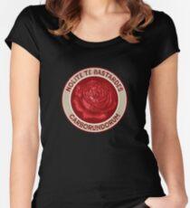 Nolite Te Bastardes Carborundorum Women's Fitted Scoop T-Shirt