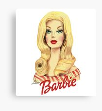 Barbie 2 Canvas Print