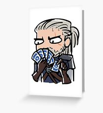 The Witcher - Gwent Greeting Card