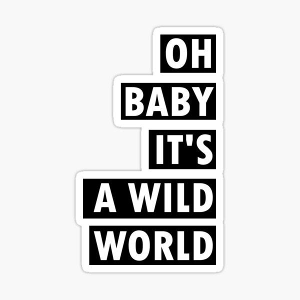 Ob baby, baby  Sticker
