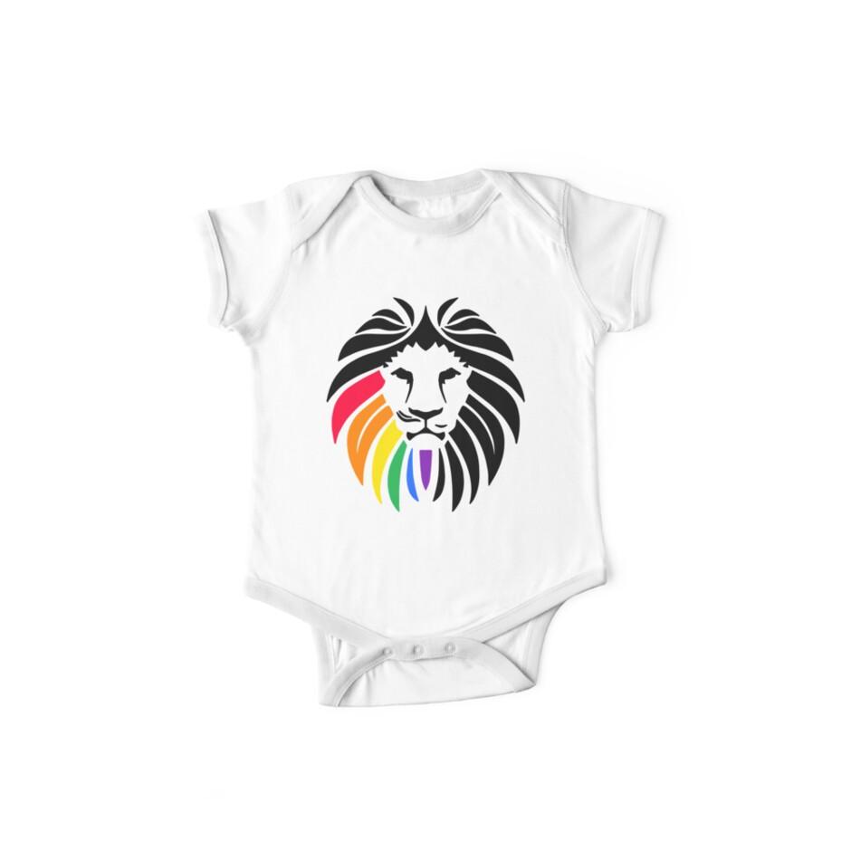 Regenbogen-Löwenkopf von biggeek
