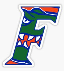 Florida Gators Head F logo Sticker