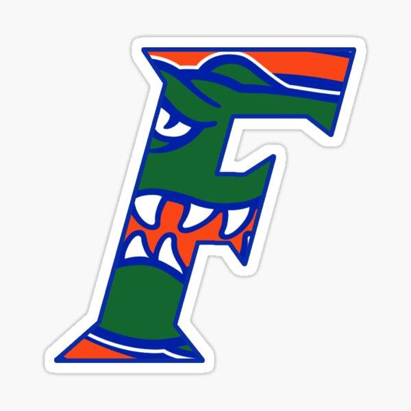 Florida Gators Head F logo Sticker