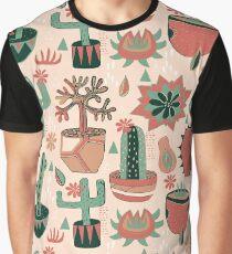 Sun Room Succulents Graphic T-Shirt