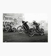 Speedway - Accelerating away II Photographic Print