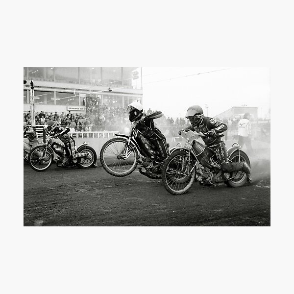 Speedway - Accelerating away II Photographic Print