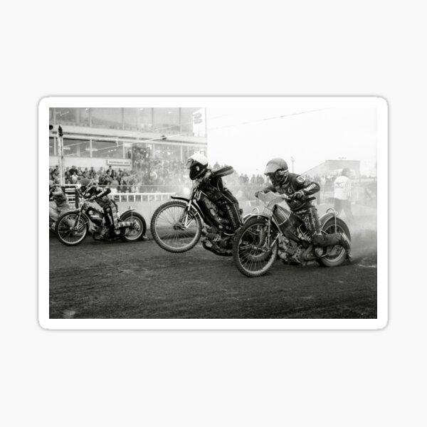 Speedway - Accelerating away II Sticker
