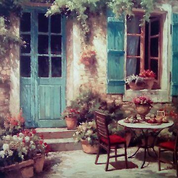 Patio in Bloom by Jakemc1872