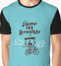 J'aime ma bicyclette Graphic T-Shirt