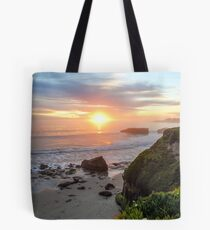 West Cliff Sunset Tote Bag