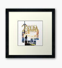 Zelda Nintendo Switch Framed Print