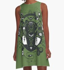 illumikitty A-Line Dress