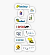 apache hadoop ecosystem set Sticker