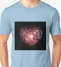 heart shape bokeh Unisex T-Shirt