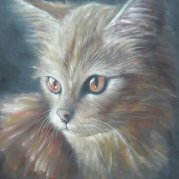 Ginger (cat drawing) by boschthurlings