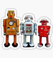 Three Robots. Sticker