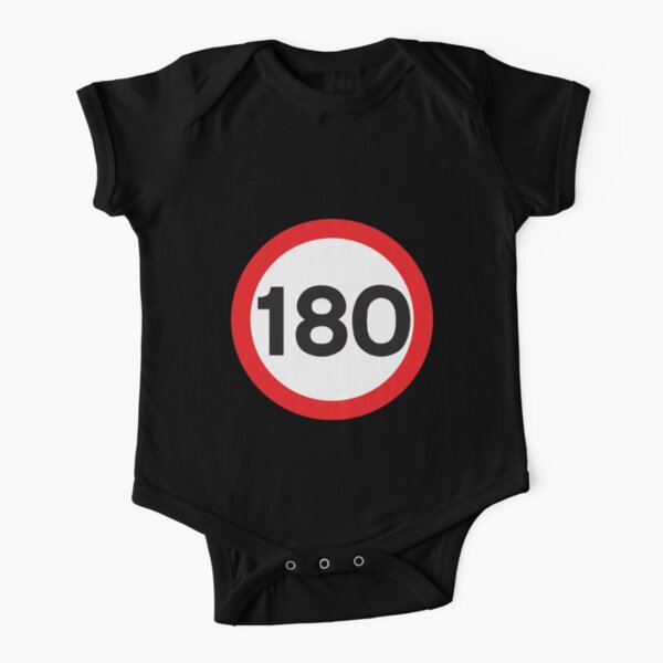 180 Max Speed Short Sleeve Baby One-Piece