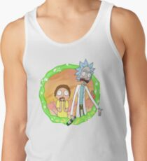 Rick and Morty a hundred years! Tank Top
