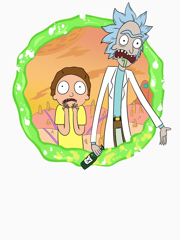 Rick and Morty a hundred years! by melscribbles