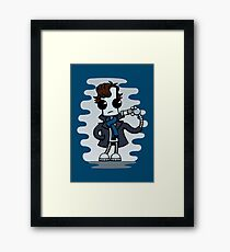 Ned the Detective Framed Print