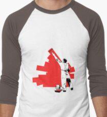 Renovate yourself - red Men's Baseball ¾ T-Shirt