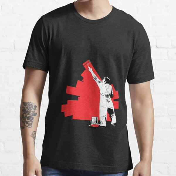 Renovate yourself - red Essential T-Shirt