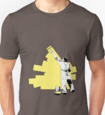 Renovate yourself - yellow Unisex T-Shirt