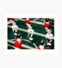Table soccer Art Print