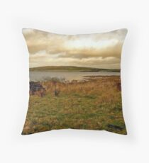 Bodmin Moor. Throw Pillow