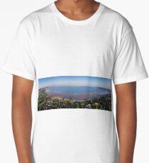 Swansea Bay panorama Long T-Shirt