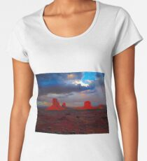 Monument Valley Mittens Women's Premium T-Shirt