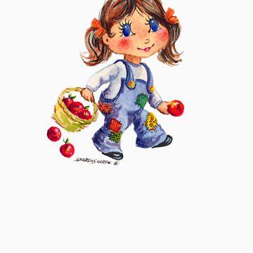 APPLE GIRL by SHARON SHARPE by sharonsharpe