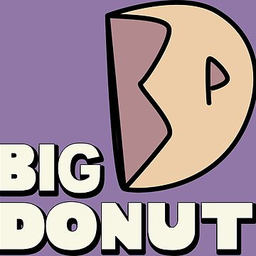 Big Donut with text by Sharkanakronism
