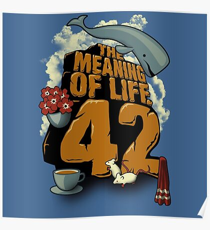 The Meaning of Life Poster