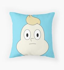 Onion is judging you Throw Pillow